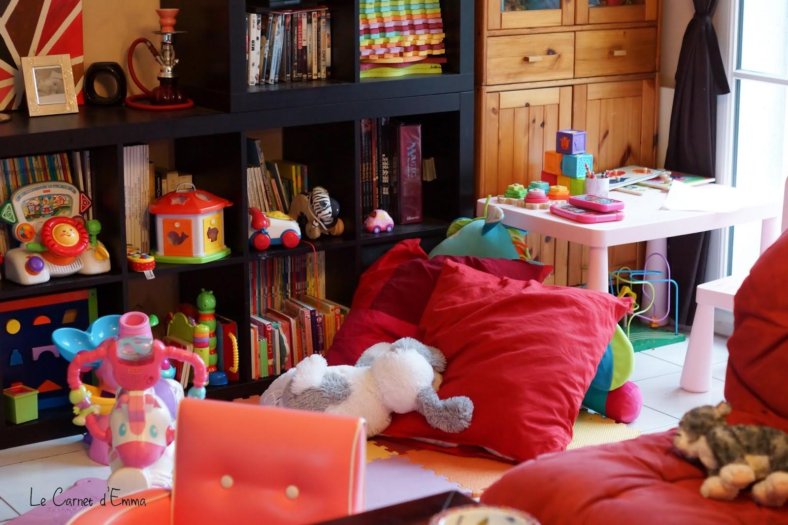 Un Salon Non Une Salle De Jeu Le Carnet D 39 Emma