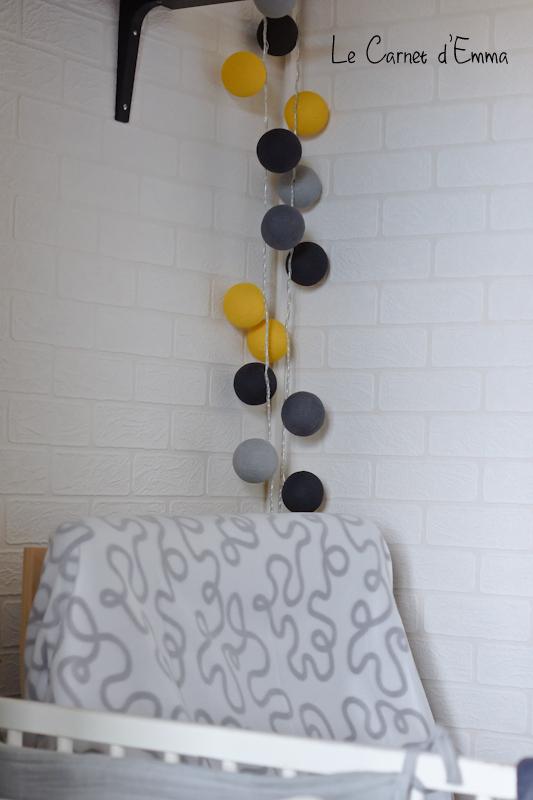 Guirlande lumineuse de chez Guirlande Magic pour chambre d'enfant ou bébé