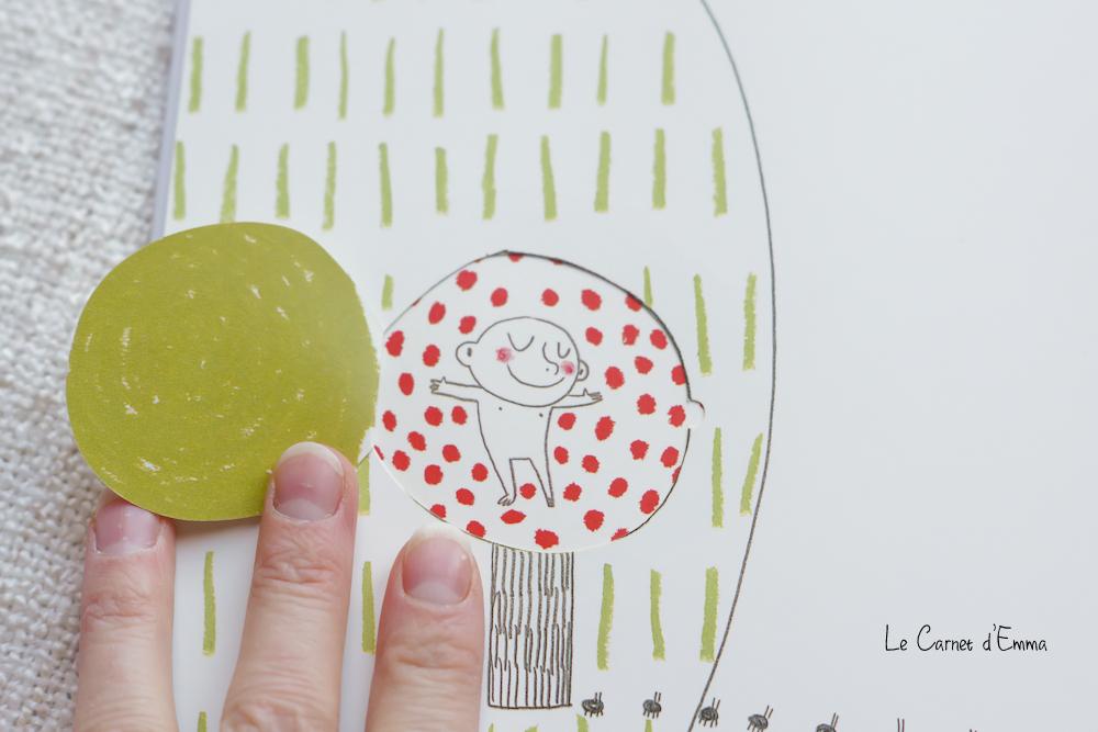 Livre pour faire visualiser la grossesse à un enfant