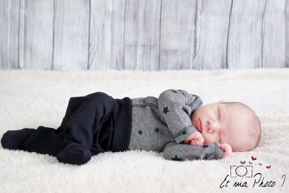 Séance photo nouveau né, Et ma photo ? bébé