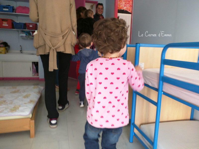 visite de l'école, première rentrée, maternelle