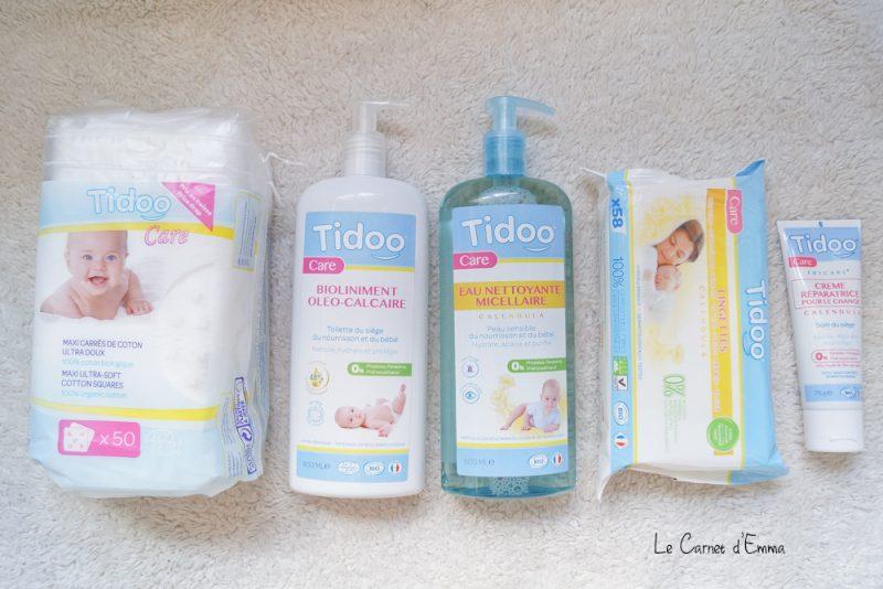 Soin bébé clean Tidoo