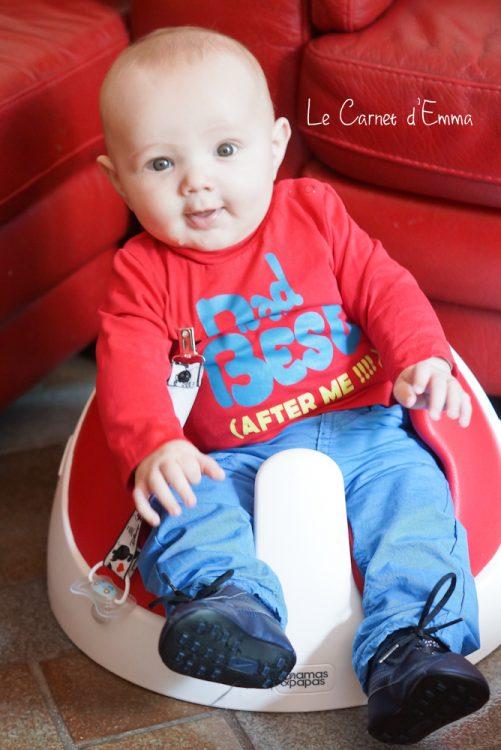 test du siège bébé Baby Snug de mamas & papas