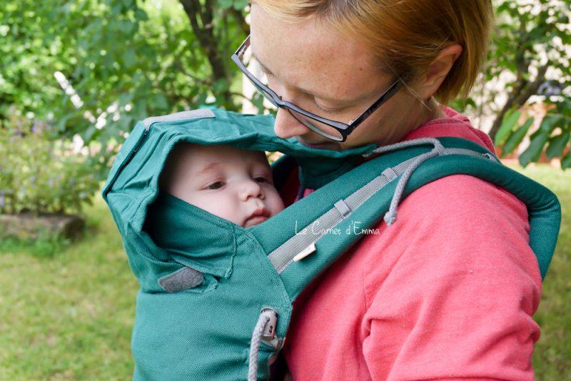 Porté bébé physiologique Ling Ling d'amour P4