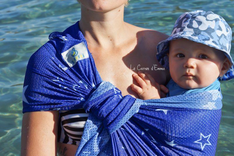 Porté bébé sling pour l'été et la baignade Sukkiri