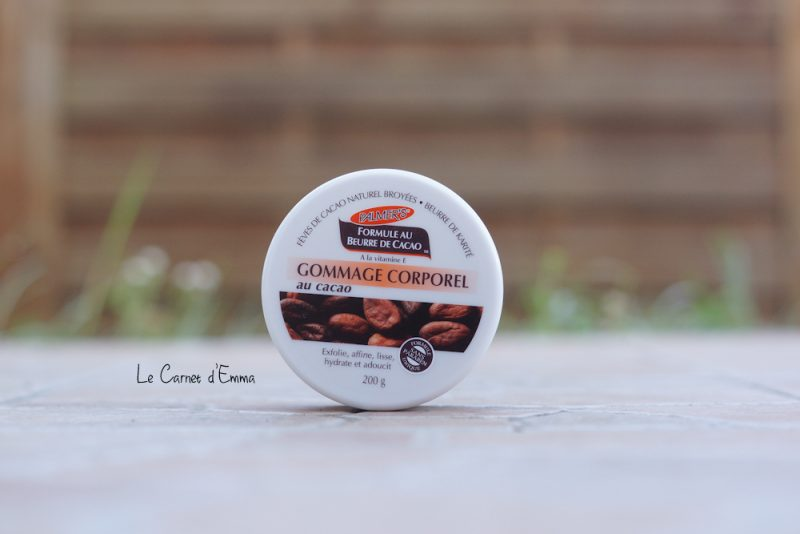 cosmétique Palmer's soin du corps au beurre de cacao gommage corporel