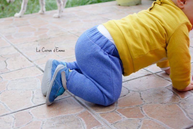 première paire de chaussures, bébé, babybotte, baby