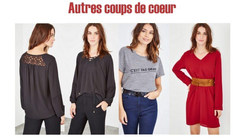 idée look collection IRL de Showroomprivée automne hiver femme