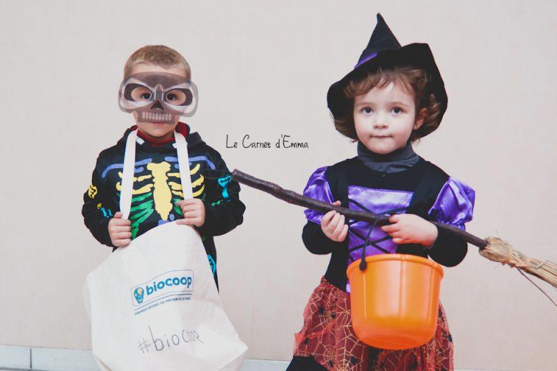 son premier halloween, déguisement de sorcière