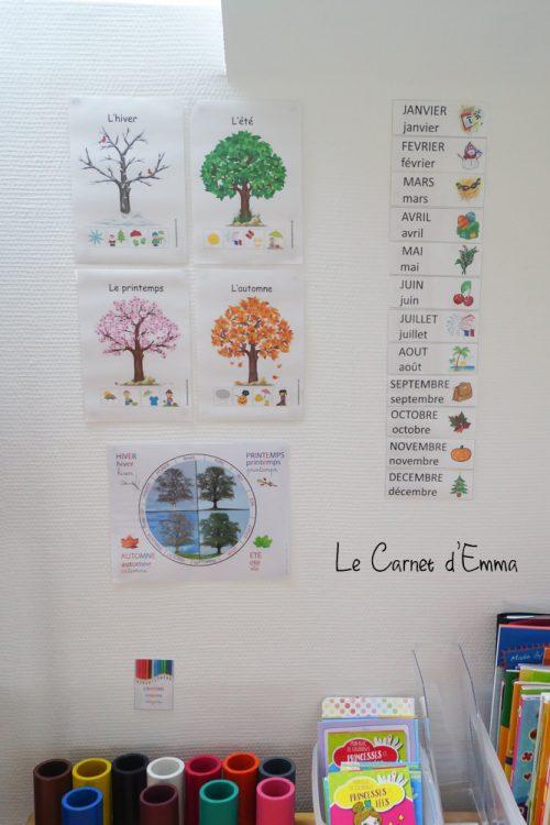 Affiche maternelle salle de jeux