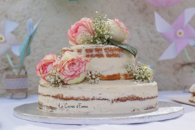 Parrainage civil / Baptême / Décoration champêtre mint rose et gold