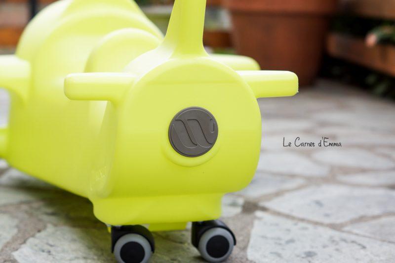Découverte, test et avis sur le porteur biplace avion de Wesco? Jouet enfant à partir de 18 mois, idée cadeau noël anniversaire