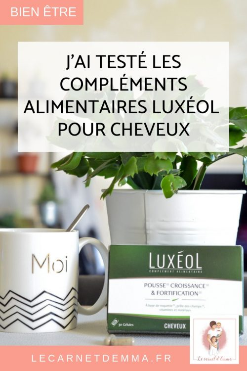 Test et avis sur Luxéol Complément alimentaire pour la pousse des cheveux et la fortification
