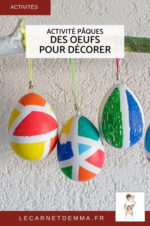 vignette pinterest activité pâques œufs