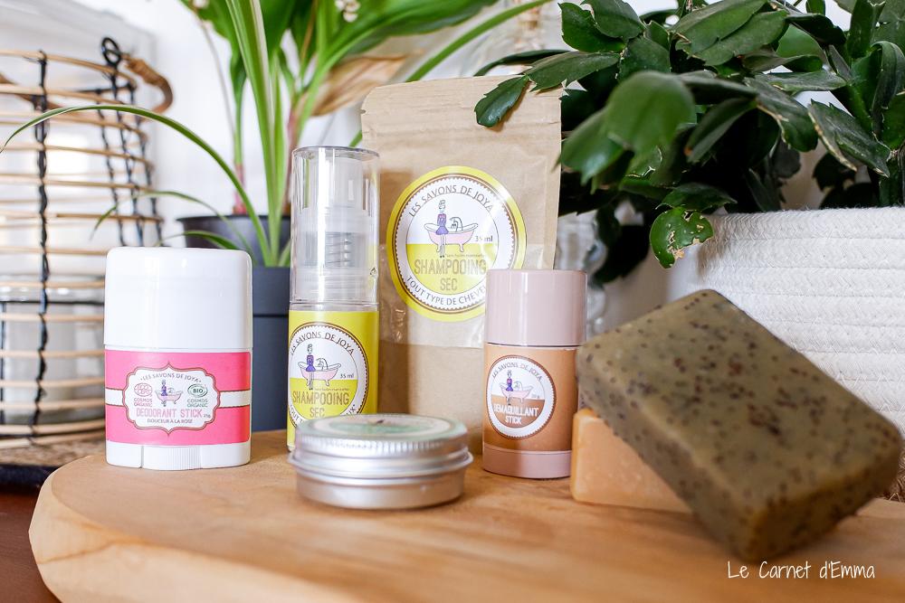 Présentation de tous les produits cosmétiques que je teste